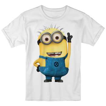 تی شرت بچگانه انارچاپ طرح مینیون مدل T09001