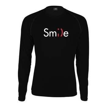 تیشرت مردانه پاتیلوک طرح Smile مدل 330367