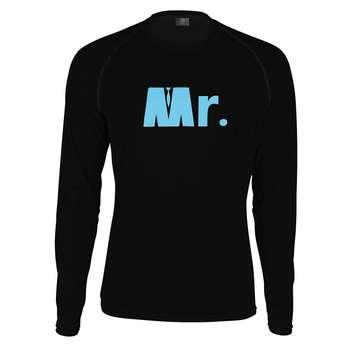 تیشرت آستین بلند مردانه پاتیلوک طرح MR مدل 330353