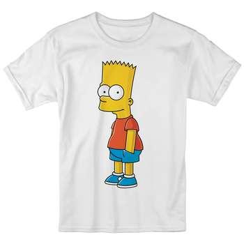 تی شرت بچگانه انارچاپ طرح بارت سیمپسون مدل T09007