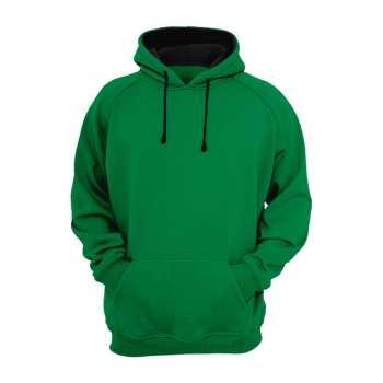 هودی سبز ساده مردانه