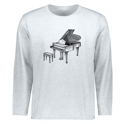 تصویر تیشرت مردانه طرح پیانو کد ETLM20
