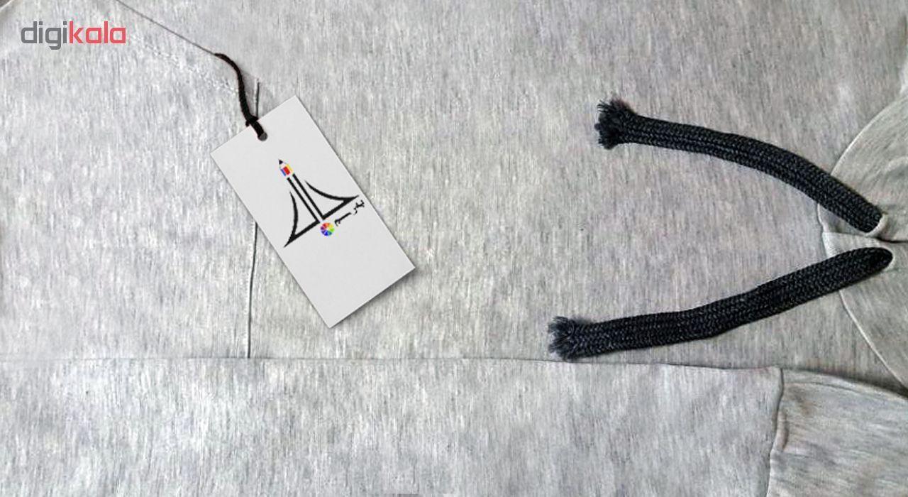 هودی زنانه به رسم طرح اکسو علامت کد 121 main 1 3