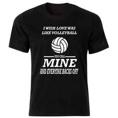 تی شرت مردانه طرح والیبال کد BW17000