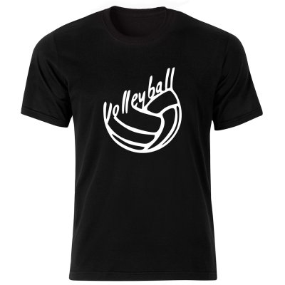 تی شرت مردانه طرح والیبال کد BW17003