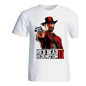 تی شرت مردانه سالامین طرح Red Dead Redemption 2 کد SA200