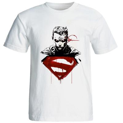 تی شرت زنانه طرح سوپرمن کد w213