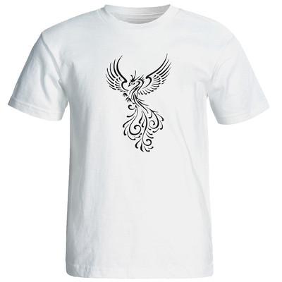 تی شرت زنانه طرح سیمرغ کد  12802
