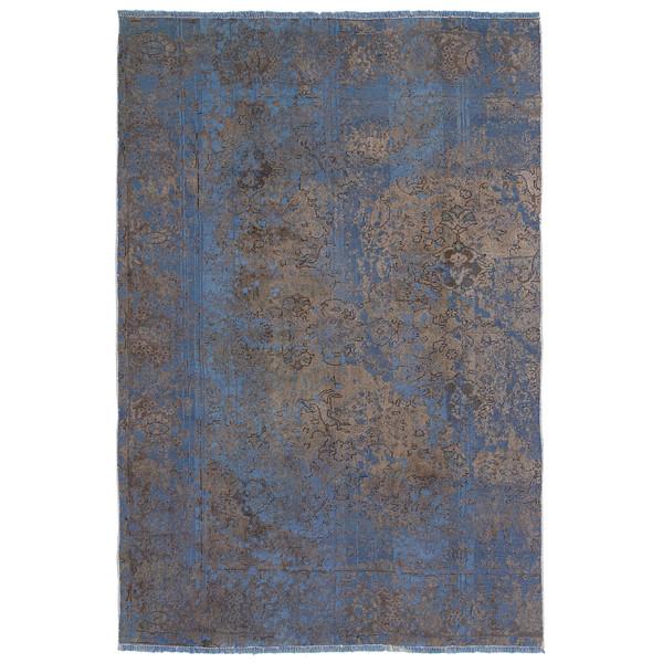 فرش دستباف رنگ شده پنج و نیم متری حیدریان کد 63304