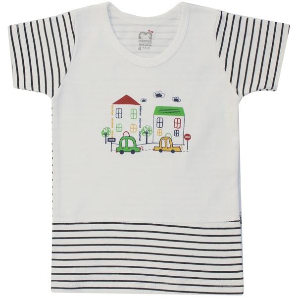 تی شرت پسرانه آدمک مدل car