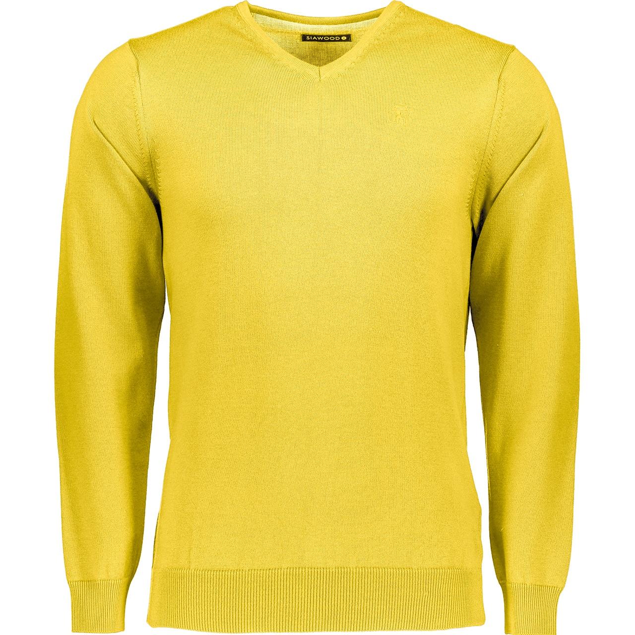 تصویر پلیور مردانه سیاوود مدل 32630-CHARLES-1 کد Y0043 زرد