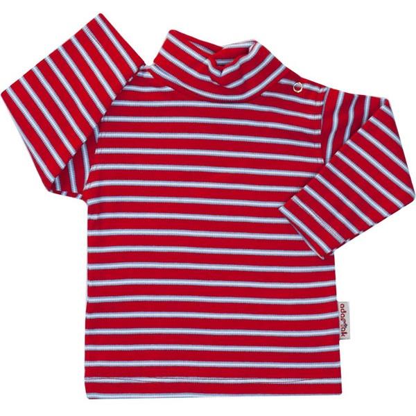 تصویر تی شرت آدمک طرح راه راه کد 144401