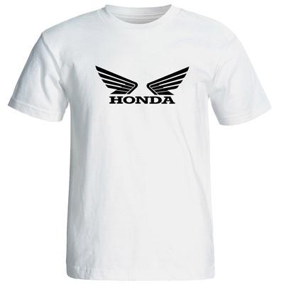 تی شرت آستین کوتاه مردانه طرح هوندا کد 1547