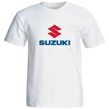 تی شرت آستین کوتاه مردانه طرح سوزوکی کد 1527