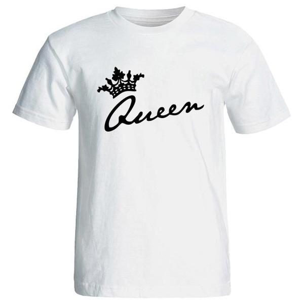 تی شرت زنانه طرح queen کد 7305