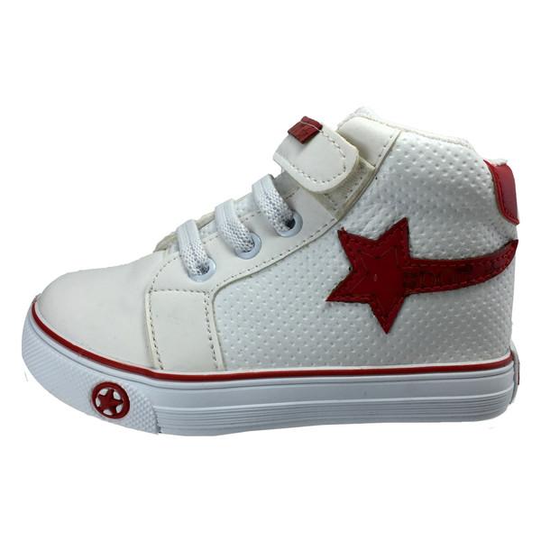 کفش بچگانه مدل B80 سفید-قرمز