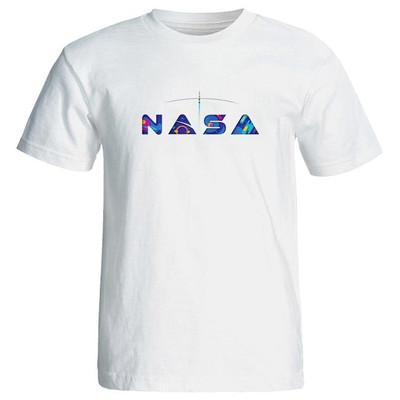 تیشرت آستین کوتاه زنانه طرح ناسا nasa کد 7153