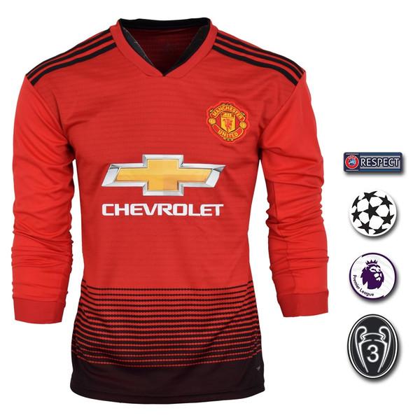 پیراهن ورزشی طرح سانچز مدل منچستریونایتد Sl-Home18/19 به همراه تگ