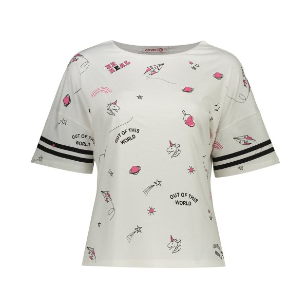 تی شرت زنانه افراتین مدل 2523shi