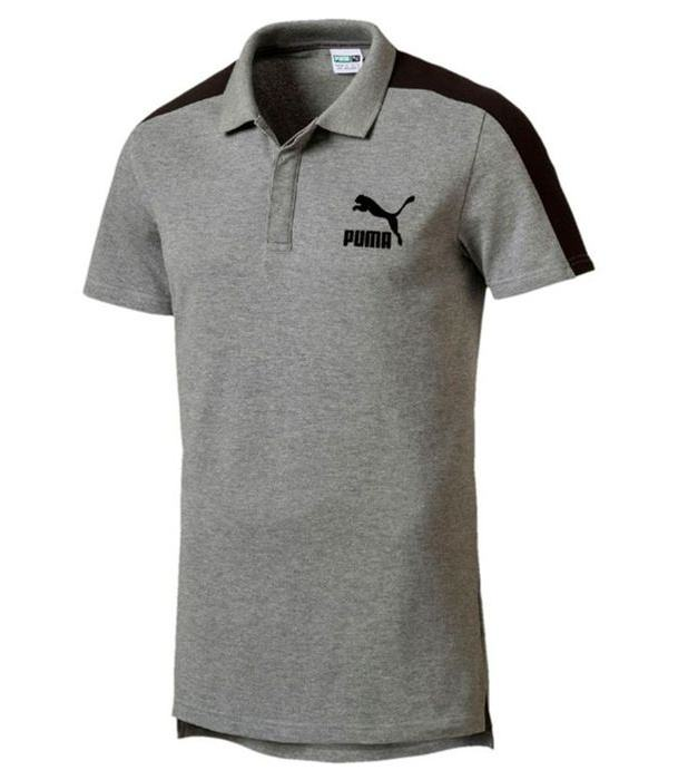 پولو شرت آستین کوتاه مردانه پوما مدل Archive T7 -  - 1