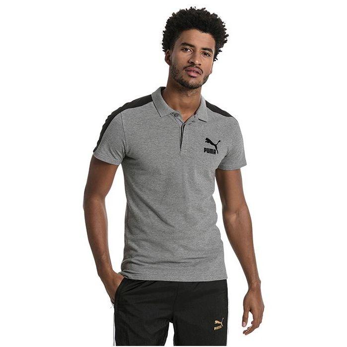 پولو شرت آستین کوتاه مردانه پوما مدل Archive T7 -  - 3