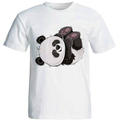 Photo of تی شرت آستین کوتاه زنانه طرح پاندا کد 4177
