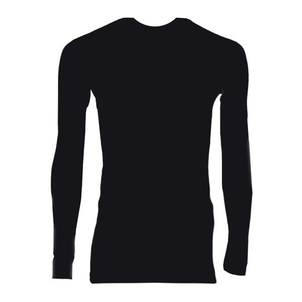 تیشرت آستین بلند مردانه جیبر کد 131 رنگ مشکی