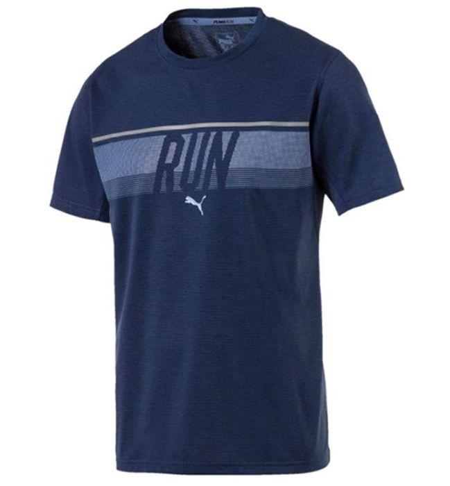 تی شرت آستین کوتاه مردانه پوما مدل Run Tee -  - 1