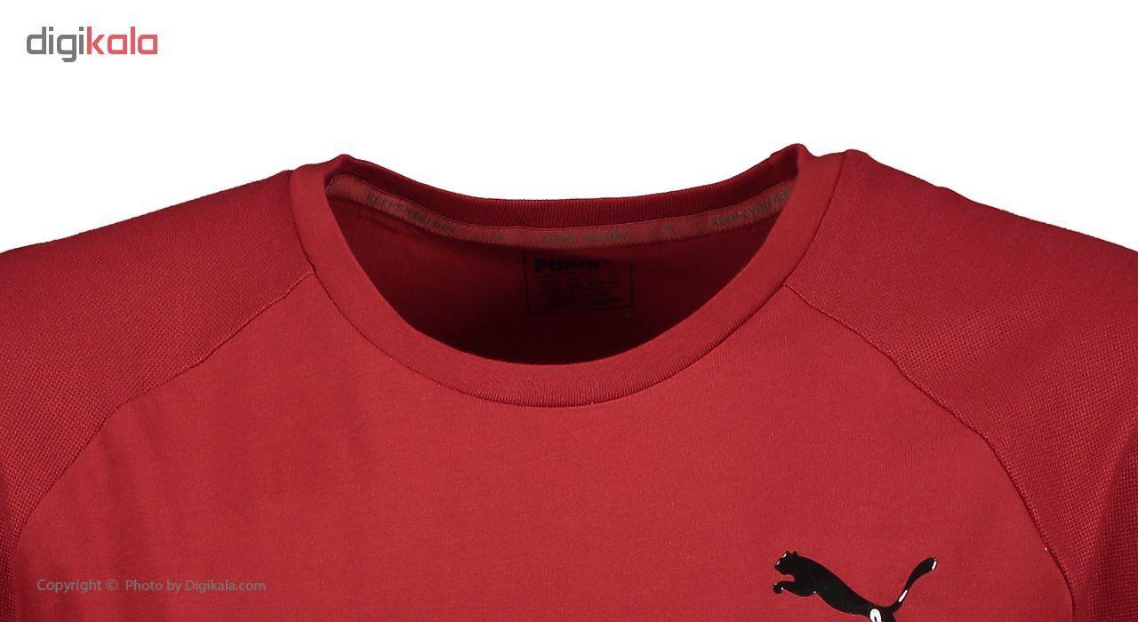 تی شرت آستین کوتاه مردانه پوما مدل Evostripe Move -  - 4