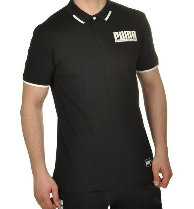 پولو شرت آستین کوتاه مردانه پوما مدل STYLE Athletics -  - 2