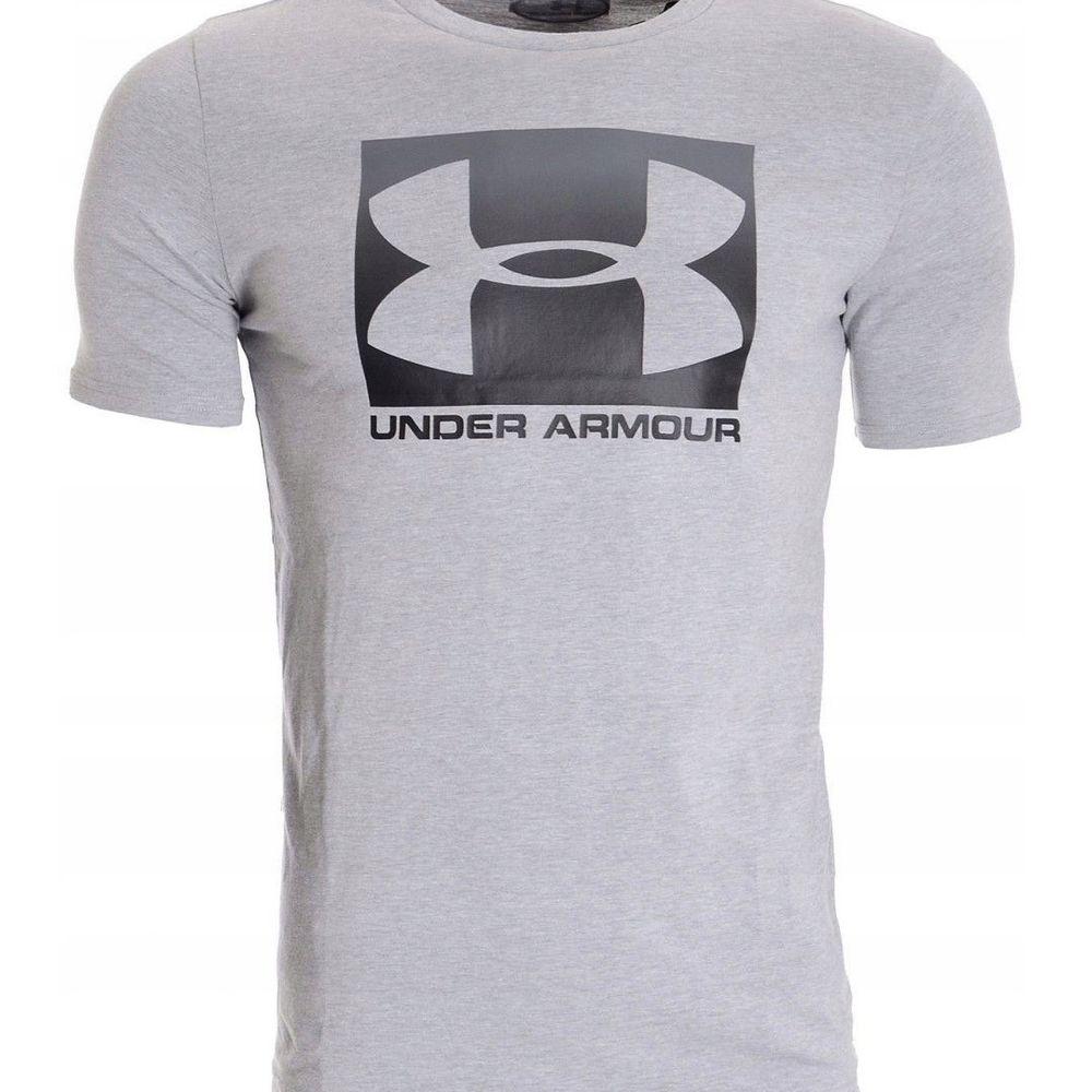 تی شرت ورزشی مردانه آندر آرمور مدل Boxed Sportstyle SS