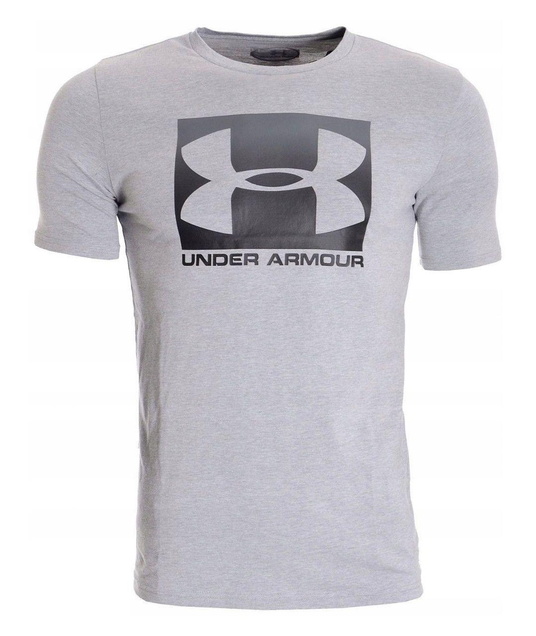 تی شرت ورزشی مردانه آندر آرمور مدل Boxed Sportstyle SS -  - 2
