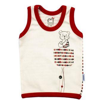 رکابی نوزادی آدمک طرح خرس توپی