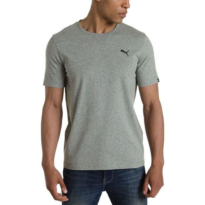 تی شرت آستین کوتاه مردانه پوما مدل Essentials -  - 4