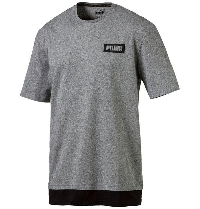 تی شرت آستین کوتاه مردانه پوما مدل Rebel -  - 1