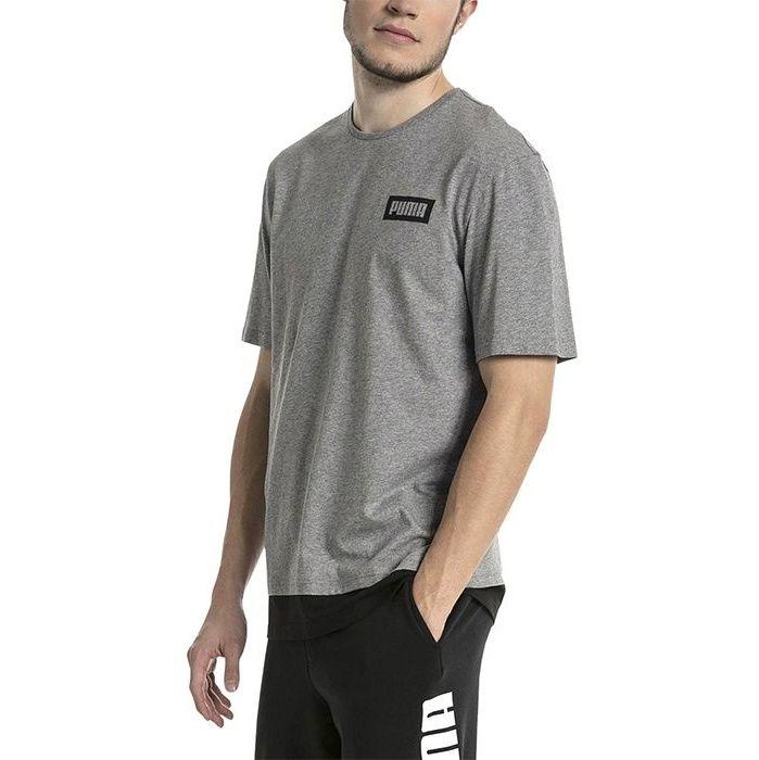 تی شرت آستین کوتاه مردانه پوما مدل Rebel -  - 2