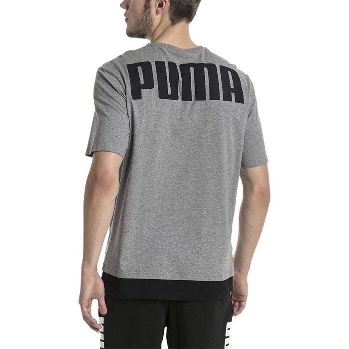 تی شرت آستین کوتاه مردانه پوما مدل Rebel -  - 3