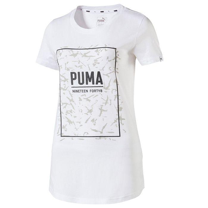تی شرت آستین کوتاه زنانه پوما مدل Fusion Graphic -  - 1