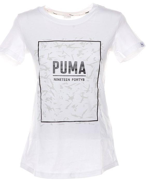 تی شرت آستین کوتاه زنانه پوما مدل Fusion Graphic -  - 2