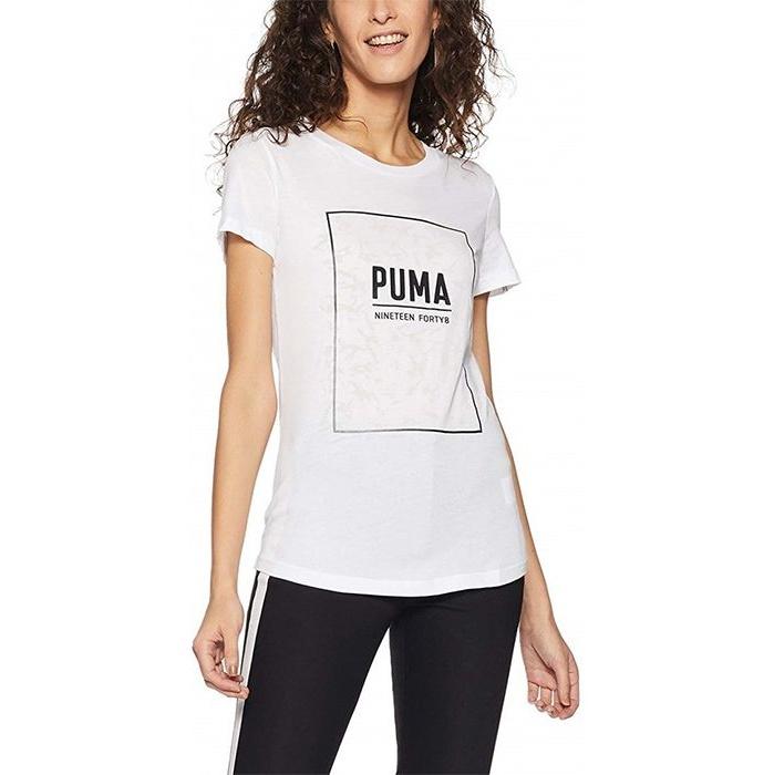 تی شرت آستین کوتاه زنانه پوما مدل Fusion Graphic -  - 3