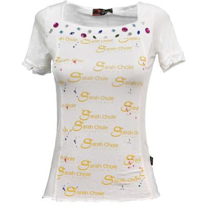 تصویر تی شرت زنانه سارا کلوئه کد SC08