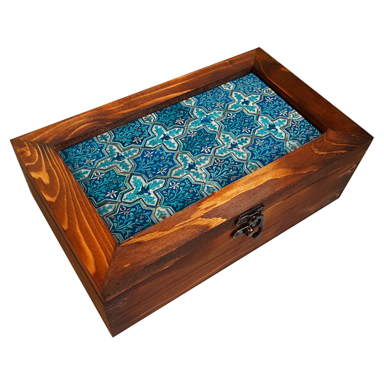 جعبه هدیه چوبی کد BG94