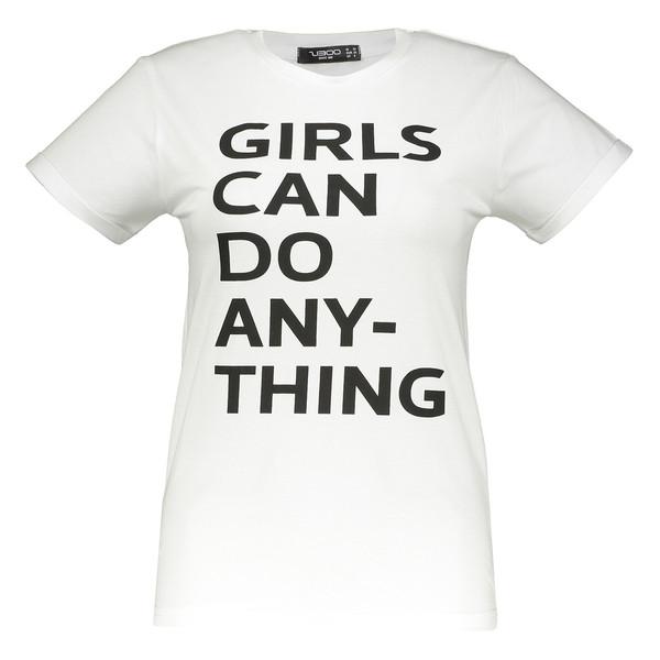 تی شرت زنانه زیبو مدل 1119008-WH