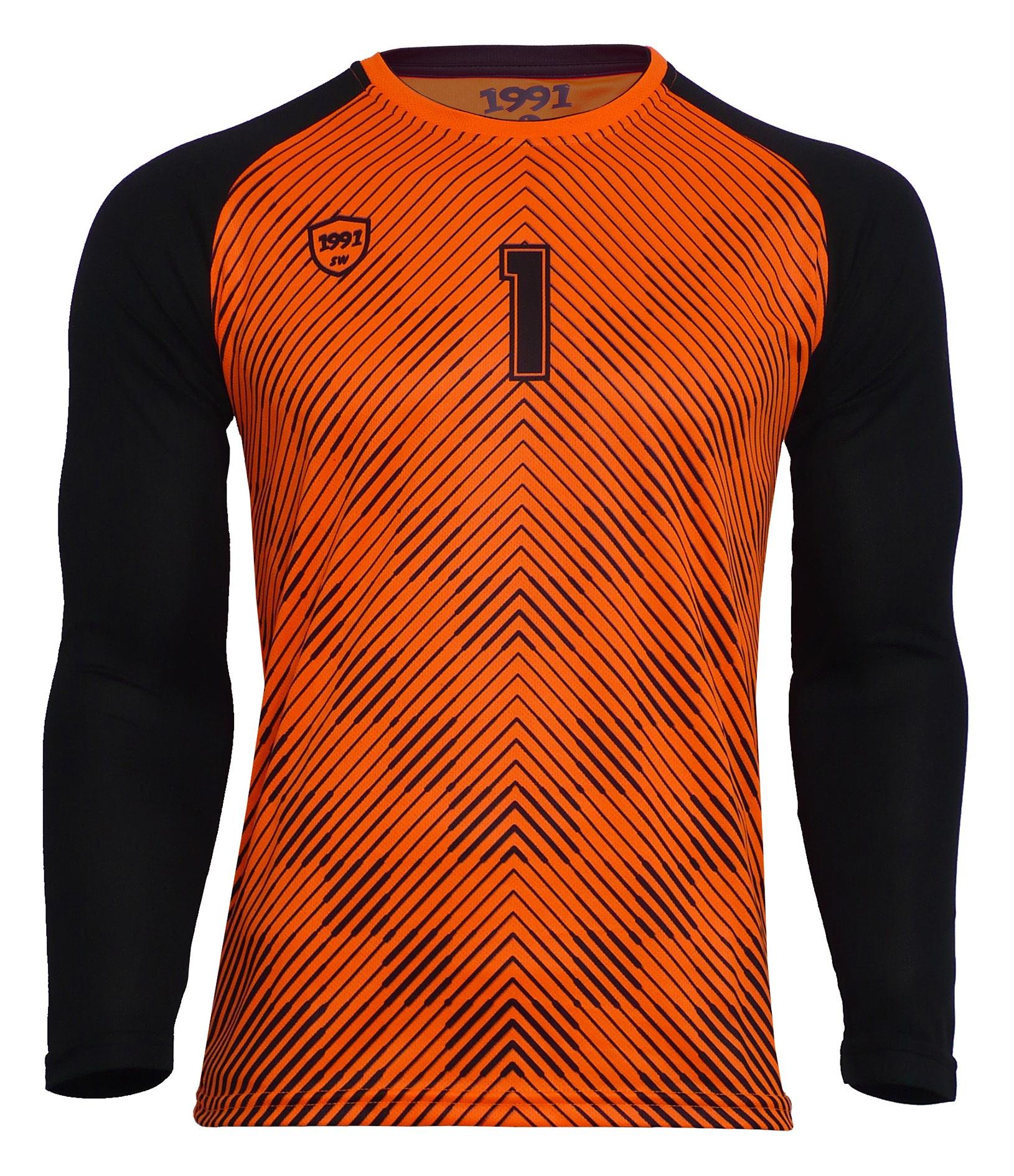 تصویر تی شرت ورزشی مردانه 1991 اس دبلیو مدل HOL Orange