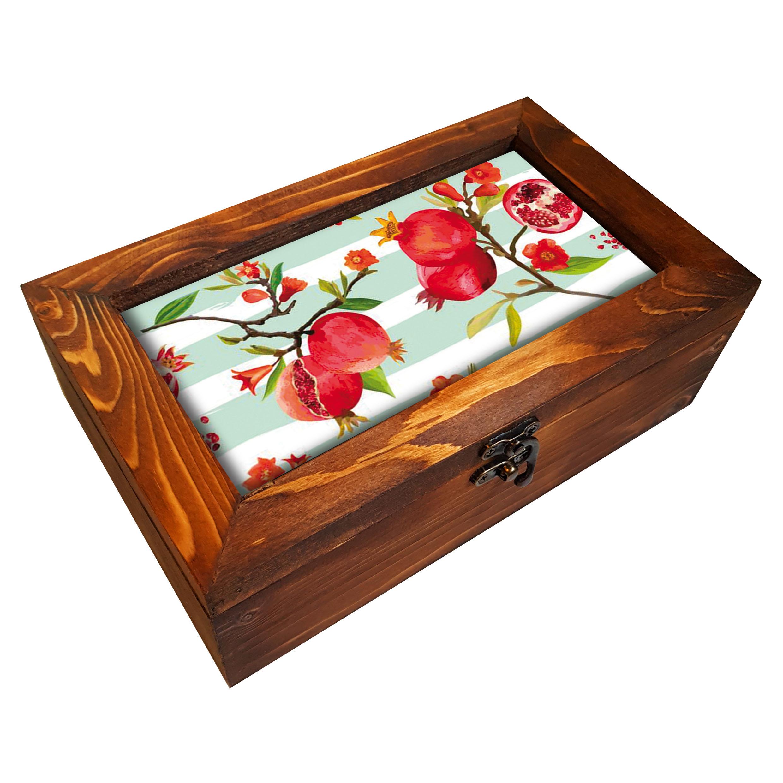 خرید                      جعبه هدیه چوبی کد BG99