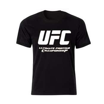 تیشرت مردانه طرح UFC مدل BW13304