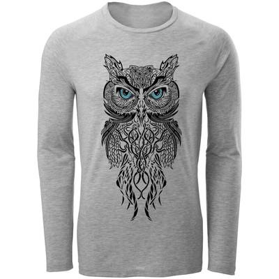 Photo of تیشرت آستین بلند مردانه مدل owl کد A32