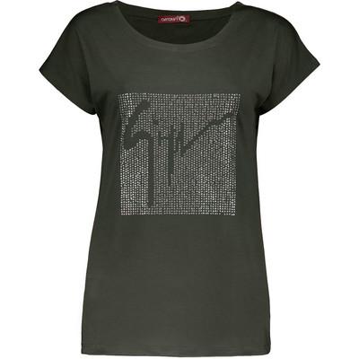 تصویر تی شرت زنانه افراتین کد 3505yash