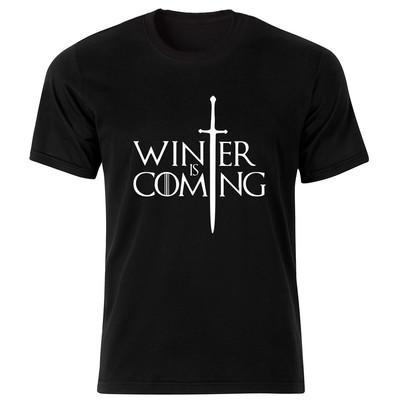 تی شرت زنانه طرح سریال بازی تاج و تخت کد 124