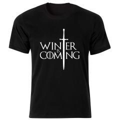 تی شرت مردانه طرح بازی تاج و تخت کد 124